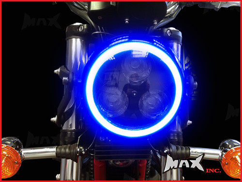 14cm Blue Super Bright LED Angel Eye Halo Ring