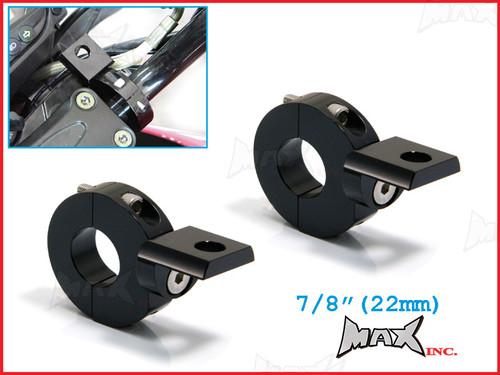 "MAX High Quality CNC Machined Bar Mount Light Brackets - 7/8""(22mm) Diameter"
