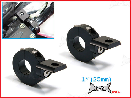 "MAX High Quality CNC Machined Bar Mount Light Brackets - 1""(25mm) Diameter"