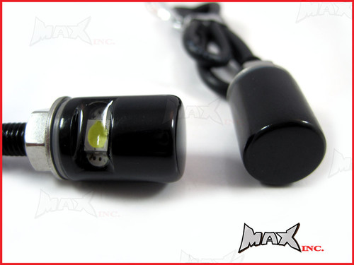 Black LED License / Number Plate Bolts