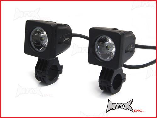 "MAX Super Bright 10w Bar Mount CREE LED Spotlights - 7/8"""