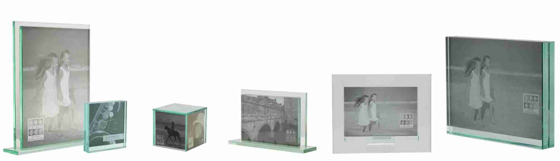 Sixtrees Glass Photo Frames