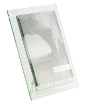Sixtrees Meadow GT309-57V Bevelled Heavy Glass 5 x 7 inch Photo Frame.