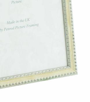 Salzburg Handmade Ornate Distressed Cream and Silver Shabby Chic 16x12 inch Photo Frame.