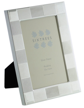 Sixtrees 6-341-46 O'Sullivan  Silver Plated 6x4 inch Photo Frame