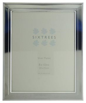 Sixtrees 6-348-80 Drago Silver Plated 10x8 inch Photo Frame