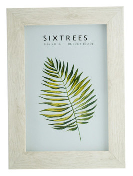 Sixtrees Twilight WD-206-46 Laser Soft White 6x4 inch Photo Frame