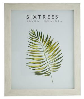 Sixtrees Laser  WD-206-80 White Oak Finish 10x8 inch Photo Frame