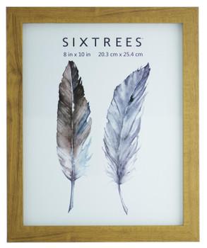 Sixtrees Twilight WD-205-80 Light Oak Finish 10x8 inch Photo Frame