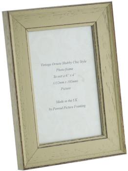 Siena Light Sage 6x4 inch  Handmade Shabby Chic  Photo Frame.