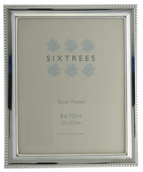 Sixtrees 6-350-80 Hunter Silver Plated 10x8 inch Photo Frame