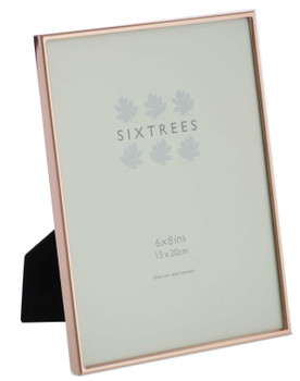 Sixtrees 2-405-68 Winchester Copper 8x6 inch Photo Frame.