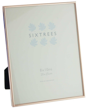 Sixtrees 2-405-80 Winchester Copper 10x8 inch Photo Frame.