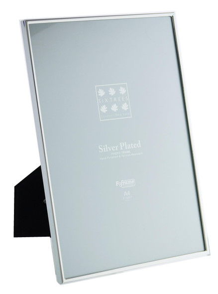 Sixtrees Cambridge 2-400-A4  A4 size (297x210mm) Silver Plated Narrow Rim Photo Frame