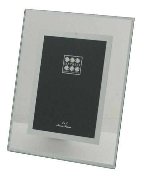 Sixtrees Lenton 3-601-57 Flat Glass  and Mirror Line 7x5 inch Photo Frame.