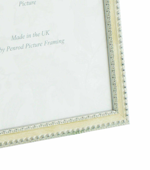 Salzburg Handmade Ornate Distressed Cream and Silver Shabby Chic 16x12 inch Photo Frame.