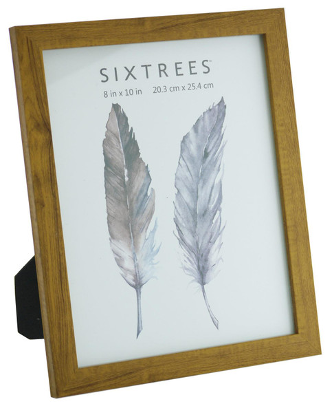 Sixtrees Twilight WD-205-80 Light Oak Finish 10x8 inch Photo Frame