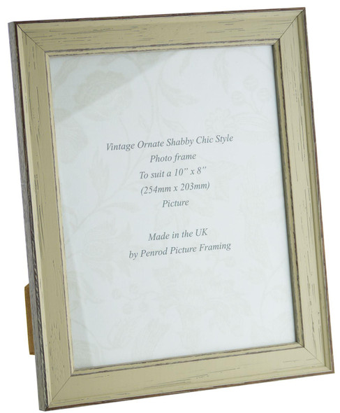 Siena Light Sage 10x8 inch  Handmade Shabby Chic  Photo Frame.