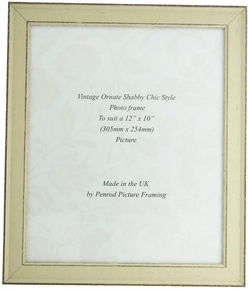Siena Light Sage 12x10 inch  Handmade Shabby Chic  Photo Frame.