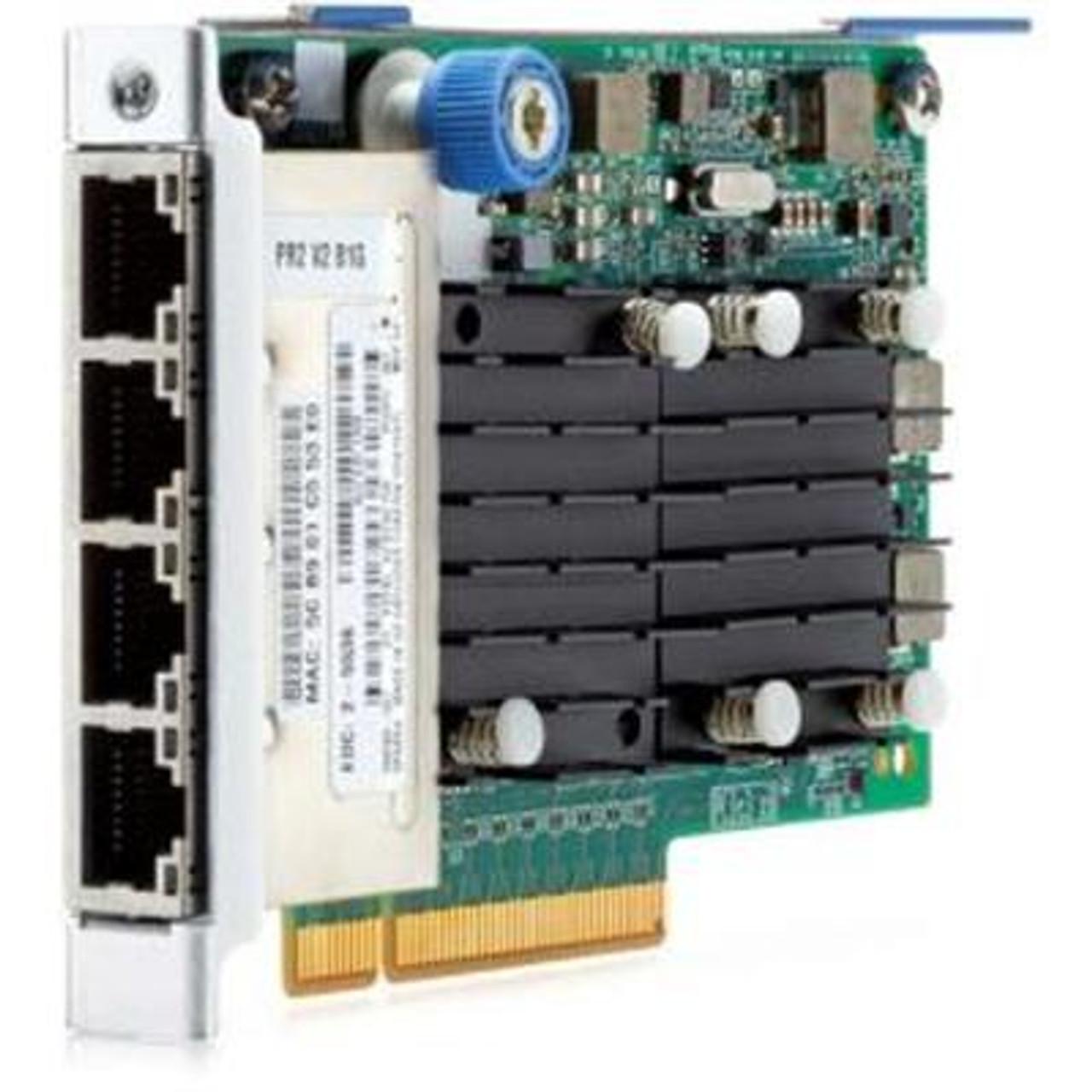 700759-B21 Compatible HP FlexFabric 10GB 2-Port 533FLR-T Adapter Renewed