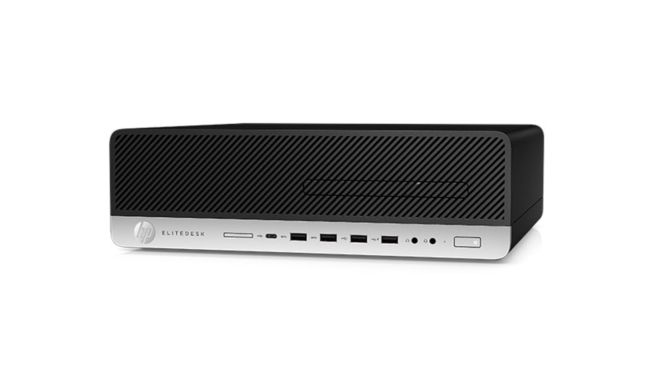 HP EliteDesk 800 G4 W10P-64 PD G5500 3 8GHz 500GB SATA 4GB(1x4GB) DDR4 2666  DVD HDMI Port