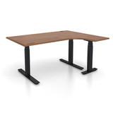 L-Shapped Office Sit/Stand Desks