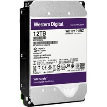 """WD Purple WD121PURZ 12 TB Hard Drive - SATA (SATA/600) - 3.5"""" Drive - Internal"""