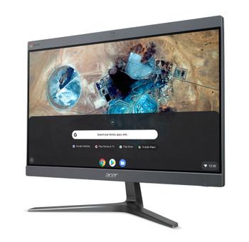 "Acer Chromebase 24 CA24V2 All-in-One Computer - Intel Core i7 i7-8650U Quad-core (4 Core) 1.90 GHz - 4 GB RAM DDR4 SDRAM - 128 GB Serial ATA/600 SSD - 23.8"" Full HD 1920 x 1080 Touchscreen Display - Desktop"