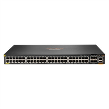 Aruba 6300F 48-port 1GbE Class 4 PoE and 4-port SFP56 Switch
