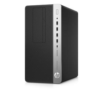 HP Business Desktop ProDesk 600 G5 Desktop Computer - Core i3 i3-9100 - 4 GB RAM - 500 GB HDD - Micro Tower