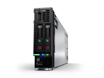 HPE ProLiant BL460c G10 Blade Server - 2 x Xeon Gold 5120 - 64 GB RAM HDD SSD - 12Gb/s SAS Controller