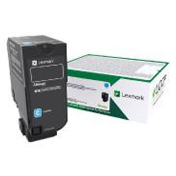 Lexmark Original Toner Cartridge - Laser - Cyan