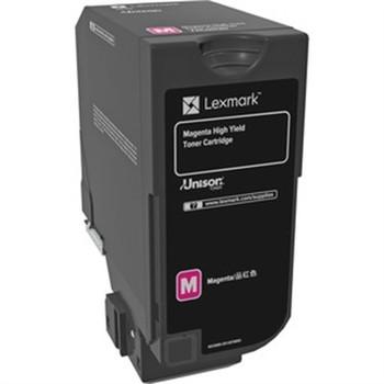 Lexmark Original Toner Cartridge - Laser - Magenta