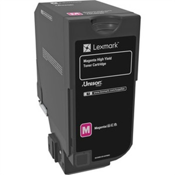 Lexmark Original Toner Cartridge - Laser - Magenta