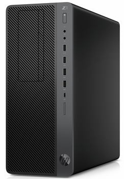HP Z1 G5 W10P-64 i9-9900 3.1 16G Optane 2TB x2 SATA 64GB (2x32GB) DDR4 2666 AMD Rdn RX 5 NIC ODD Card Reader TWR