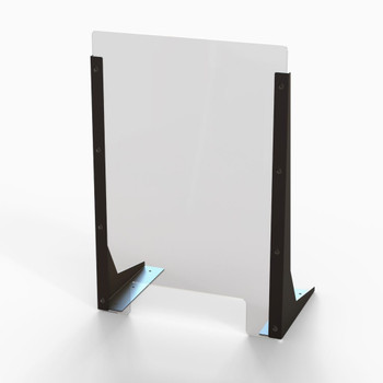 "Acrylic Cough & Sneeze Barrier - 16"" Wide/24"" Height"