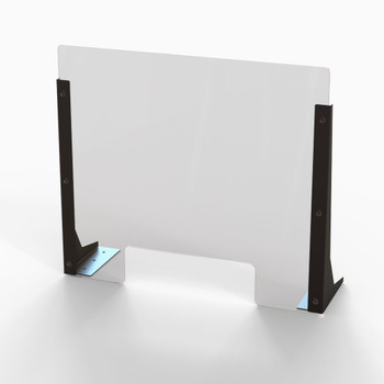 "Acrylic Cough & Sneeze Barrier - 20"" Wide/18"" Height"