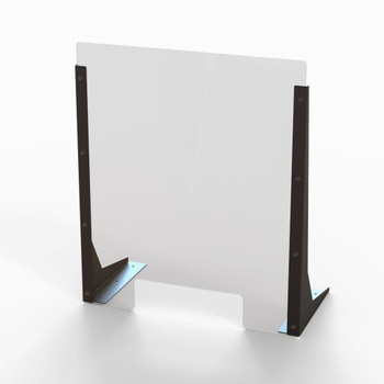 "Acrylic Cough & Sneeze Barrier - 20"" Wide/24"" Height"