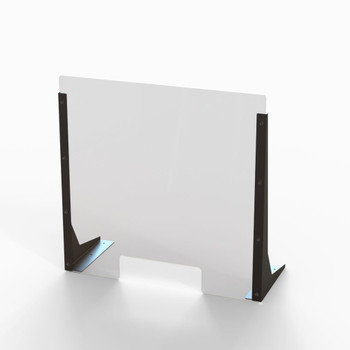 "Acrylic Cough & Sneeze Barrier - 24"" Wide/24"" Height"