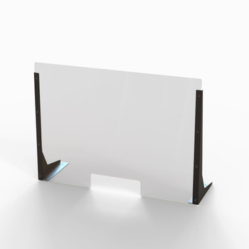 "Acrylic Cough & Sneeze Barrier - 32"" Wide/24"" Height"