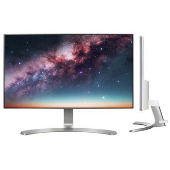 "LG 24MP88HV-S 23.8"" Full HD LED LCD Monitor - 16:9 - Silver, White"