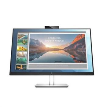 "HP E24d G4 23.8"" Full HD LED LCD Monitor - 16:9 - Black, Silver"