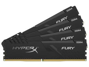 HyperX FURY 128GB DDR4 SDRAM Memory Module - HX434C17FB3K4/128