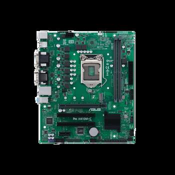Asus H410M-C/CSM Desktop Motherboard - Intel Chipset - Socket LGA-1200