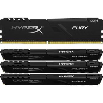 HyperX FURY 128GB DDR4 SDRAM Memory Module - HX436C18FB3K4/128