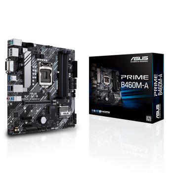 Asus Prime B460M-A Desktop Motherboard - Intel Chipset - Socket LGA-1200