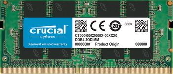 Crucial 16GB DDR4 SDRAM Memory Module - For Notebook - 16 GB - DDR4-2666/PC4-21300 DDR4 SDRAM - CL19 - 1.20 V - Non-ECC - Unbuffered - 260-pin - SoDIMM