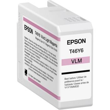 Epson UltraChrome PRO T46Y Original Ink Cartridge - Vivid Light Magenta