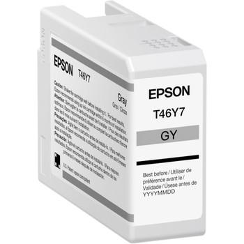 Epson UltraChrome PRO T46Y Original Ink Cartridge - Gray