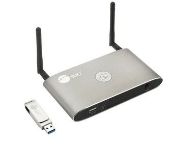 SIIG Dual View Wireless Media Presentation Switch Gateway